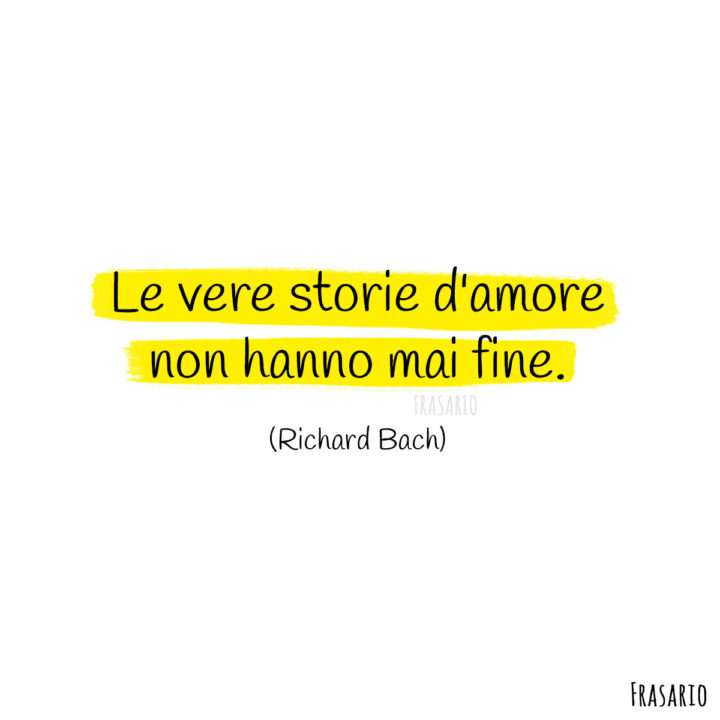 Frasi amore finito storie Bach