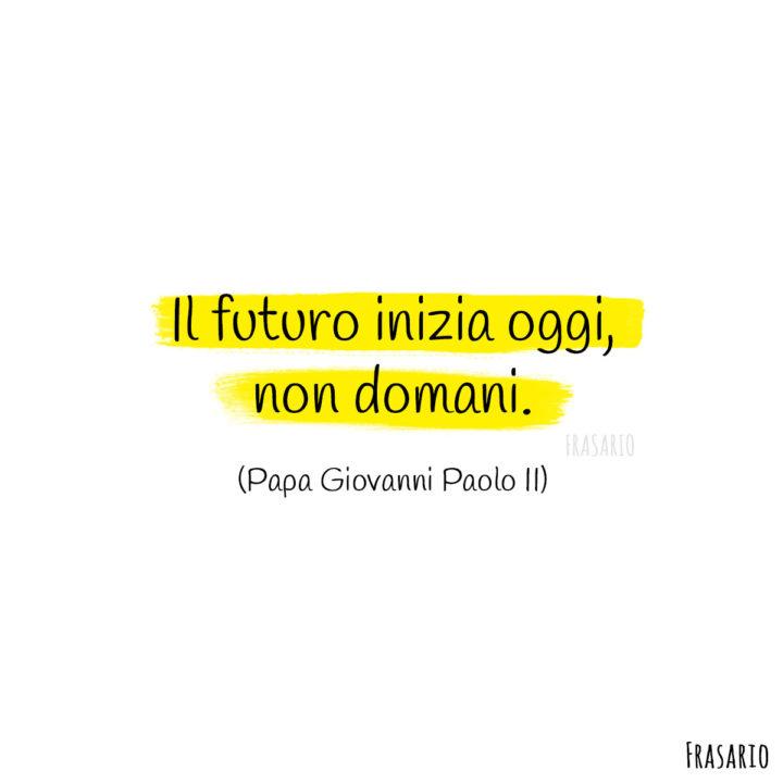 Frasi auguri laurea futuro Papa Giovanni