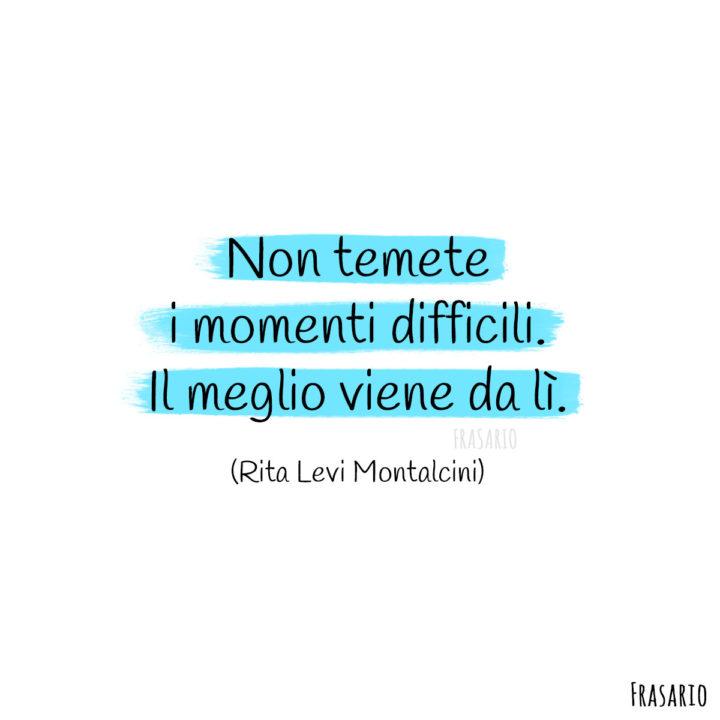 Frasi buongiorno speranza momenti Montalcini