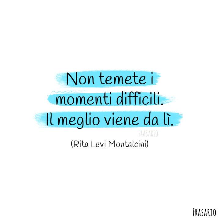 Frasi quarantena momenti Montalcini