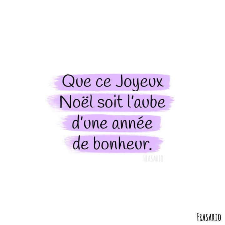 auguri natale francese bonheur