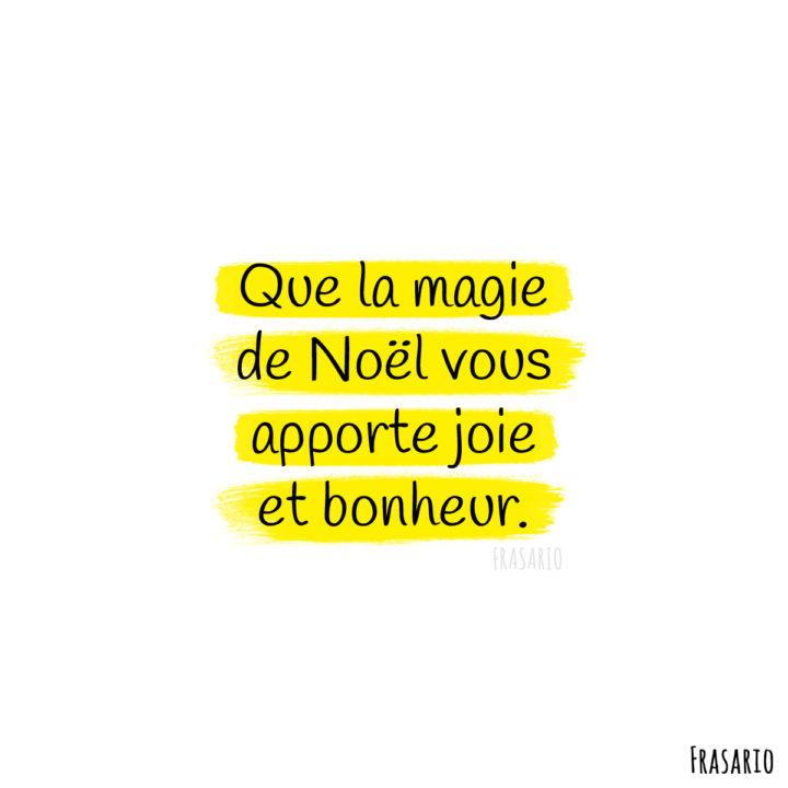 auguri natale francese magie