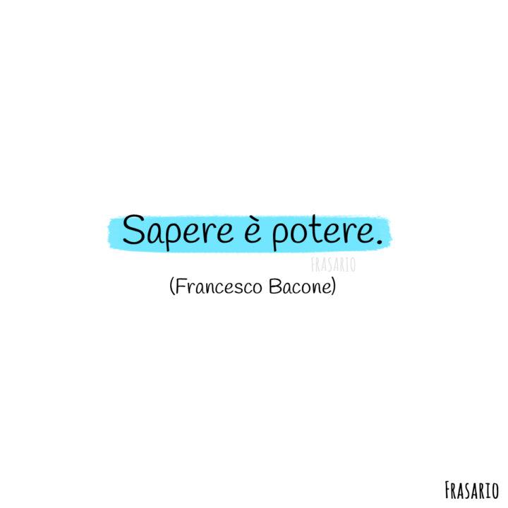frasi latino tatuaggi sapere bacone