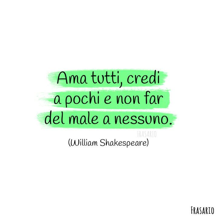 frasi belle tumblr instagram facebook whatsapp shakespeare